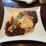 sanji - デミオムチーズ 1200円 、サラダ、スープ、ドリンク、デザート付き