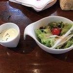 sanji - サラダと枝豆の冷静スープ