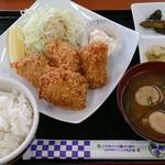 塩釜亭 - カキフライ定食1080円