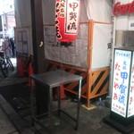 甲賀流 - 立ち食いの台