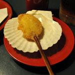 マルコポーロ - 貝柱は貝殻をお皿がわりにしているのがお洒落