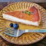 クラシヤ - 酒粕チーズタルト