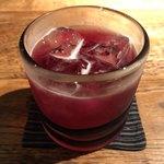 蕎麦懐石 無庵 - 赤紫蘇ジュース