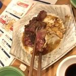 大衆肉居酒屋 ブルーキッチン - 来た瞬間に肉が無くなりました(笑)