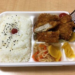 肉の米内 - 料理写真:「とんかつ弁当」