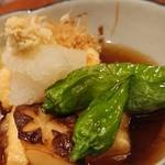 やきとり山平 - 揚げ出し豆腐