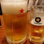 やきとり山平 - 大生ビール