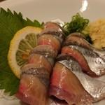 やきとり山平 - 秋刀魚刺し