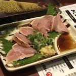 炭火焼とり 安喜 - 鶏たたき400円(税別)