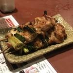 炭火焼とり 安喜 - ねぎみ1本230円(税別)