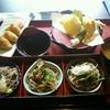 レストラン雲水 - 料理写真:三色蕎麦セット1,205円(税込) お蕎麦は十割。