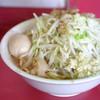 ラーメン二郎 - 料理写真:小 味玉(ヤサイ、ニンニク、アブラ)
