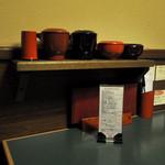 マルコポーロ - テーブルの上の様子