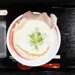 おれ流ラーメン鶏さき麺いち - クリーミー鶏白湯 塩