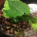 焼肉 MIYAKOYA - 包み野菜盛り合わせ