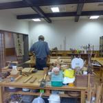 道の駅・上州おにし - 木工教室。