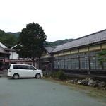 道の駅・上州おにし - 学校敷地に建てた道の駅なのですね。
