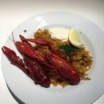 IKEAレストラン - クレイフィッシュジャンバラヤ