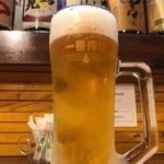 野毛八 - 一番搾り樽詰め生ビール中ジョッキ