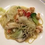 92915456 - 海老と野菜のペペロンチーノ