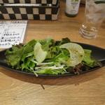 自家製生パスタ専門店木本屋 - サラダ