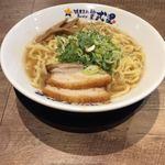 濃厚煮干しラーメン 麺屋 弍星 - 中華そば大盛(太麺)630円