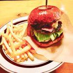 チンズバーガーマーケット - ●チンズバーガー 1,250円 ●コンポ (飲み物&ポテトM)500円