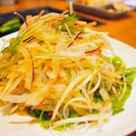 吉翔 - ねぎサラダ(380円)