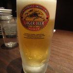 青龍門 - 生ビール