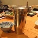 はざど - 熱燗 錫(すず)製のチロリ 保温性抜群
