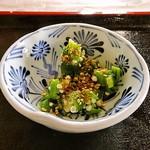 旬菜料理 いわき - 素朴な惣菜