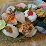 寿司一心 - 特上にぎり3000円