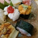 寿司一心 - アップ