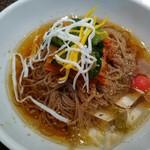 焼肉の金海 - トトリ冷麺900円