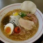 麺や 雅流 - 料理写真:白醤油の和風冷やしラーメン780円