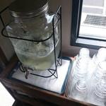 スウィンギング バード キッチン - 水もオシャレ