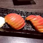 個室居酒屋 にくきゅう 肉×九州料理 - トマトスライス