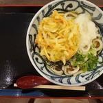 本場讃岐うどん たもん庵 - 料理写真:おろし野菜かき揚げうどん 620円