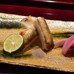 喰善 あべ - 穴子塩焼き