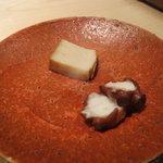 すし匠 - 鮑の塩蒸しと蛸