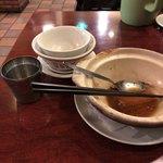 台南担仔麺 - ご馳走様でした。
