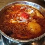インド食堂 - ◎羊挽肉辛口煮