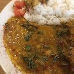 ラーマ - レンズ豆のダルカリー