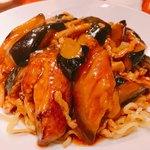 南国亭 - とっても美味しかった!茄子豚肉あんかけ焼そば