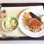 レストランかをり - 料理写真:サービスAランチ 和風ハンバーグおろしポン酢ソース