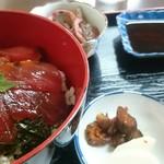 ふくや食堂 - 料理写真:日替定食『まぐろづけ丼定食』680円なり❗