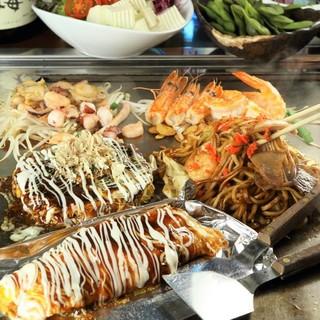 各種ご宴会に大阪名物を堪能できるコースをご用意!