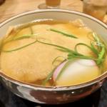 92939261 - 大きなお揚げさんは京都錦市場のもの。                       お出汁がジュワっとシミうま♡