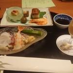 宇奈月国際ホテル - 前菜など