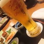宇奈月国際ホテル - ビール